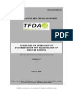 TFDA Guideline for Registration of Medical Devices - MORO Final