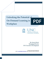 Unlocking the Potential of On-Demand Learning in the Workplace