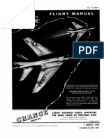 Super Sabre Aircraft Flight Manual F-100C