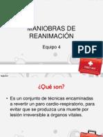 MANIOBRAS DE REANIMACIÓN