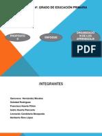 Estructura Del Programa Historia 4o Grado