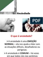 Ansiedade - Palestra Senac