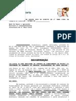 RECONVENÇÃO - BUSCA E APREENSÃO
