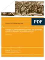 The New Alliance for Food Security and Nutrition
