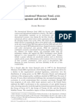 Broome - The IMF, Crisis Management, And the Credit Crunch (1)