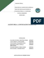 Auditoria a Entidades Publicas