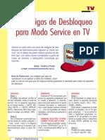 90 Codigos Para El Modo Service en TV