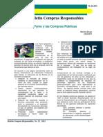 Boletín Compras Responsables - Articulo- Las Pyme y las Compras Públicas