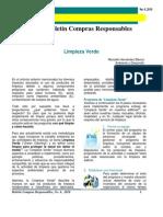 Boletín Compras Responsables - Articulo-06-260210 - LIMPIEZA VERDE