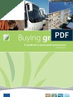 Buying Green! – A Handbook on green public procurement 2nd Edition