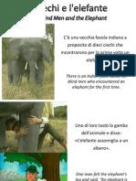 I Ciechi e l'Elefante - The Blind Men and the Elephant