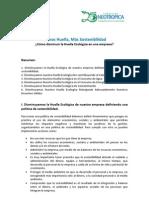 Sostenibilidad en Empresas