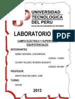 Informe N2 - CAMPO ELÉCTRICO Y SUPERFICIES EQUIPOTENCIALES