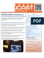 What is NOWCastSA?