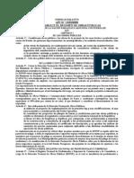 Ley 1533 Del 2000 Que Establece El Regimen de Obras Publicas