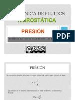 hidrostática - presión