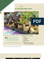 Planet-Friendly Paper Pots