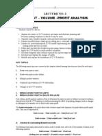 Unit 5- Cvp Lecture Notes