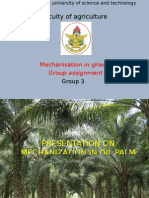 Mechanisation of Oil Palm