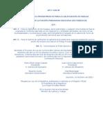 LEY 1542 DEL 2000 QUE ESTABLECE EL PROCEDIMIENTO PARA LA CALIFICACIÓN DE HUELGA