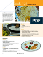 RT Vol. 12, No. 2 What's Cooking? Masala Dosa