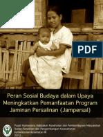 Peran Sosial Budaya dalam Upaya Meningkatkan Pemanfaatan Program Jampersal