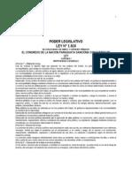 Ley 1618 de 2000 de Concesiones de Obras y Servicios Publico