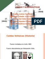 Celdas Voltaicas y Electroliticas