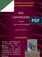 Hidrometalurgia 1 -LIXIVIACION 09-4-13