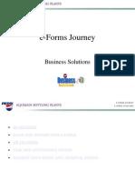 eForms Journey