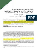 ALDANA,Myriam Catolicos Congresso Aborto Defesa Vida REF 2008