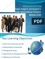 Workforce Diversity and OB