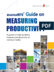 BCA - Builder's Guide on Measuring Productivity 2012
