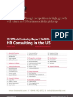 54161B HR Consulting in the US Industry Report