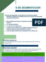 Criterios Segmentacion