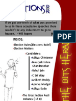 BITS Herald Pre Election Issue 2010