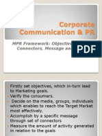 Corporate Communication & PR