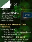 Origin of the Universe-1