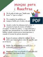 8 Tips for Teachers Spanish