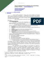 Criterios Seleccion Contenidos Aprendizaje