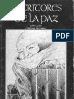 Antologia Escritores de La Paz