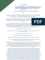 LEY 1830 DEL 01 QUE MODIFICA EL INCISO DEL ARTICULO 32 YLOS ARTÍCULOS 153, 154, 251, 254, 257 y 2