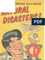 Natural Disasters Comic Book