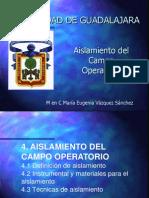 4ta. PRESENTACION ENDO i Aislamiento Del Campo Operatorio Camb