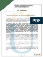 Guia Actividades y Rubrica Evaluacion. Act. 10 Trabajo Colaborativo II