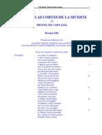 Miguel de Carvajal - Las Cortes de La Muerte 1557