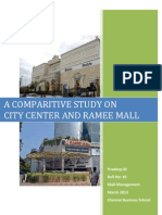 A comparative study of Chennai City Center & Ramee Mall