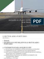 PLANO ESTRATÉGICO TRANSPORTES - ANÁLISE SETOR AERO-PORTUGÁRIO [ORDEM ENGENHEIROS - 2012]