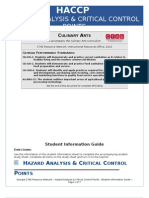 Student Information Guide_HACCP