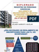 Regla.inscrip.R.P.J.no Societarias